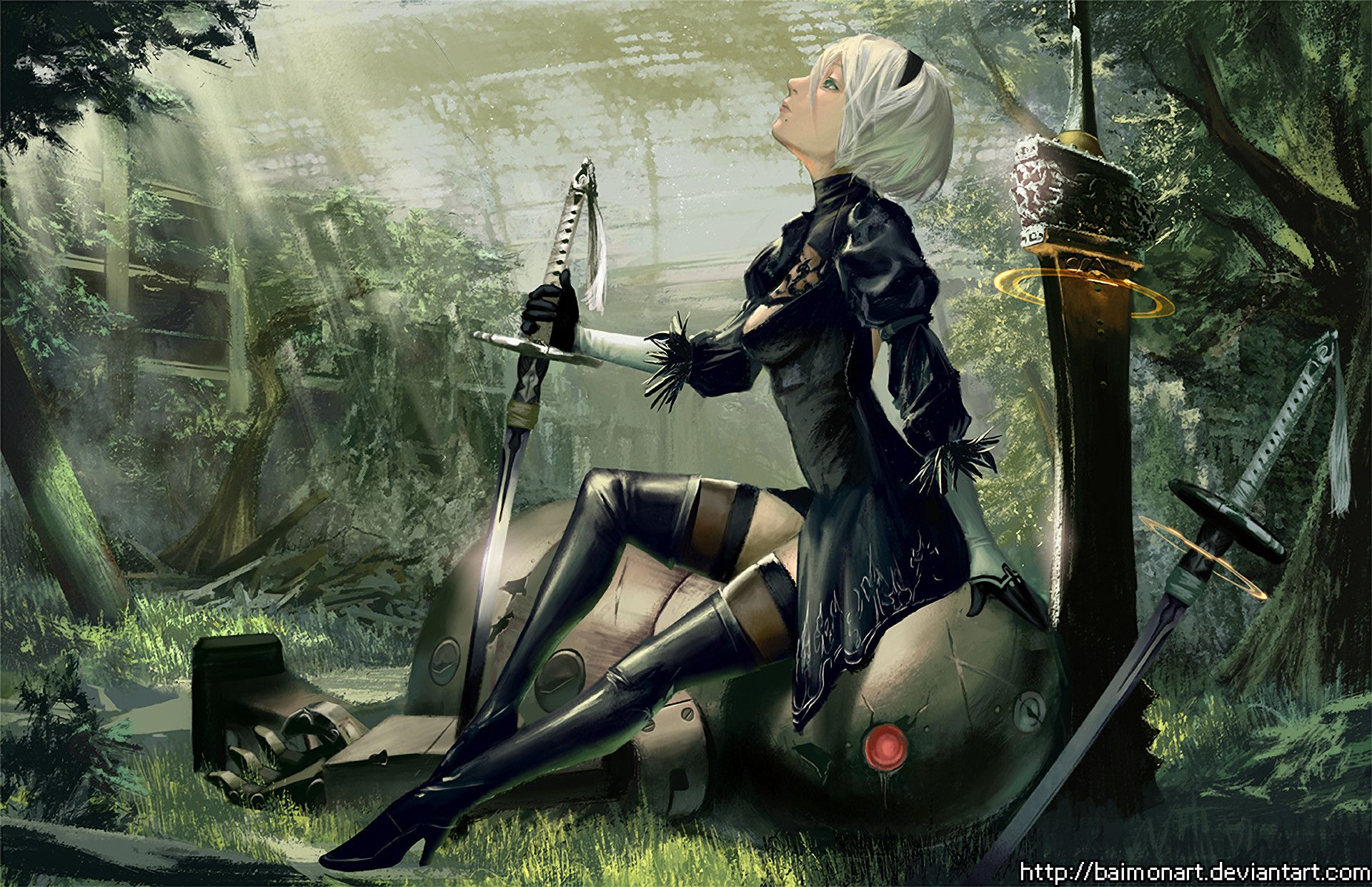 Nier Automata Wallpapers