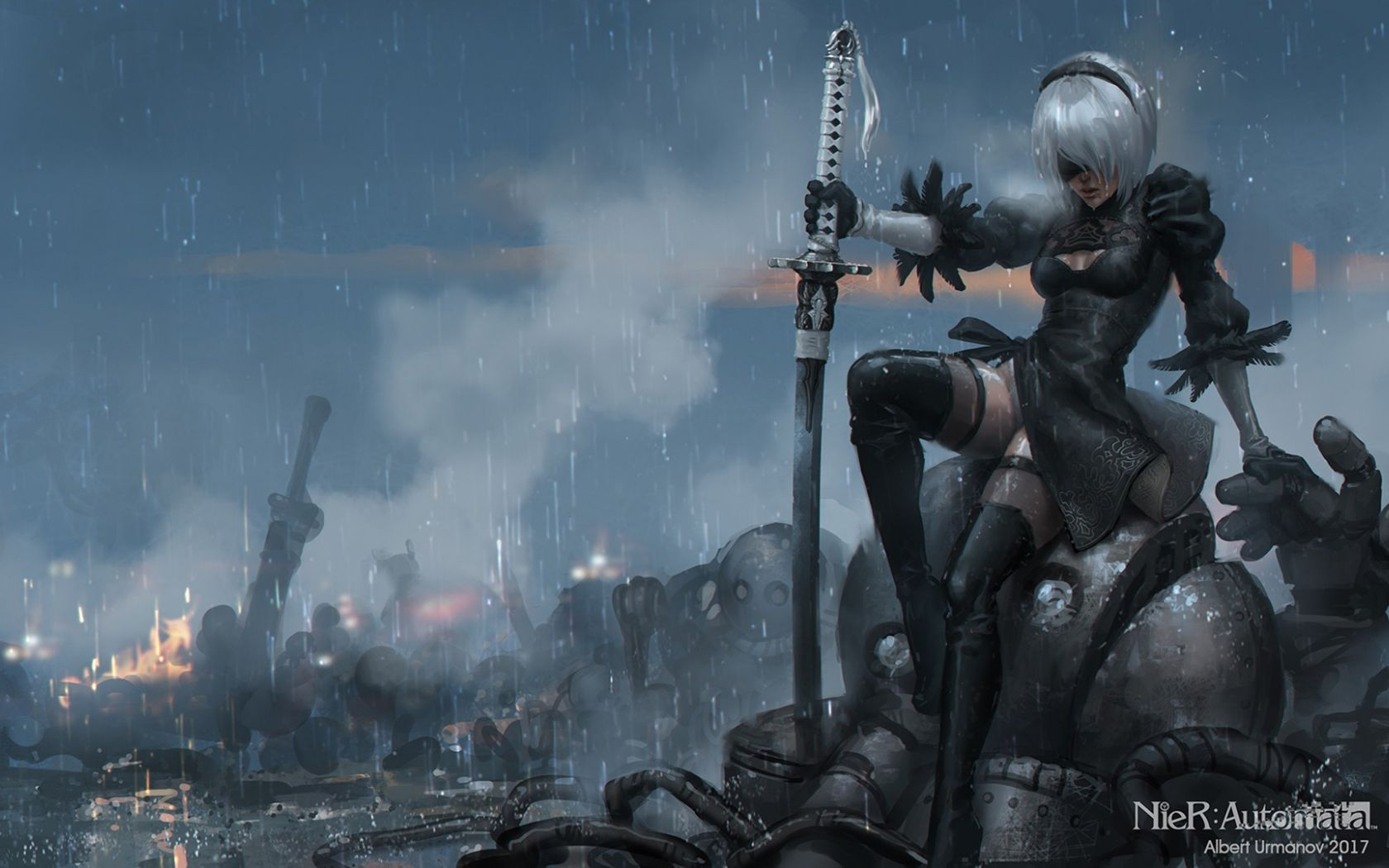 Free download NieR Automata Game 279 Wallpapers 3 [1920x1080] for