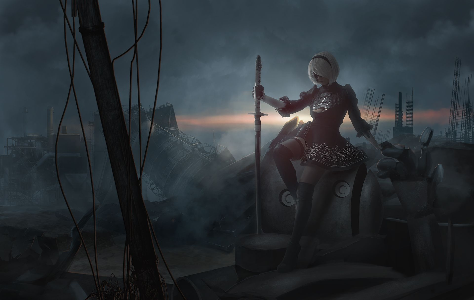Nier Automata HD, HD Games, 4k Wallpapers, Image, Backgrounds