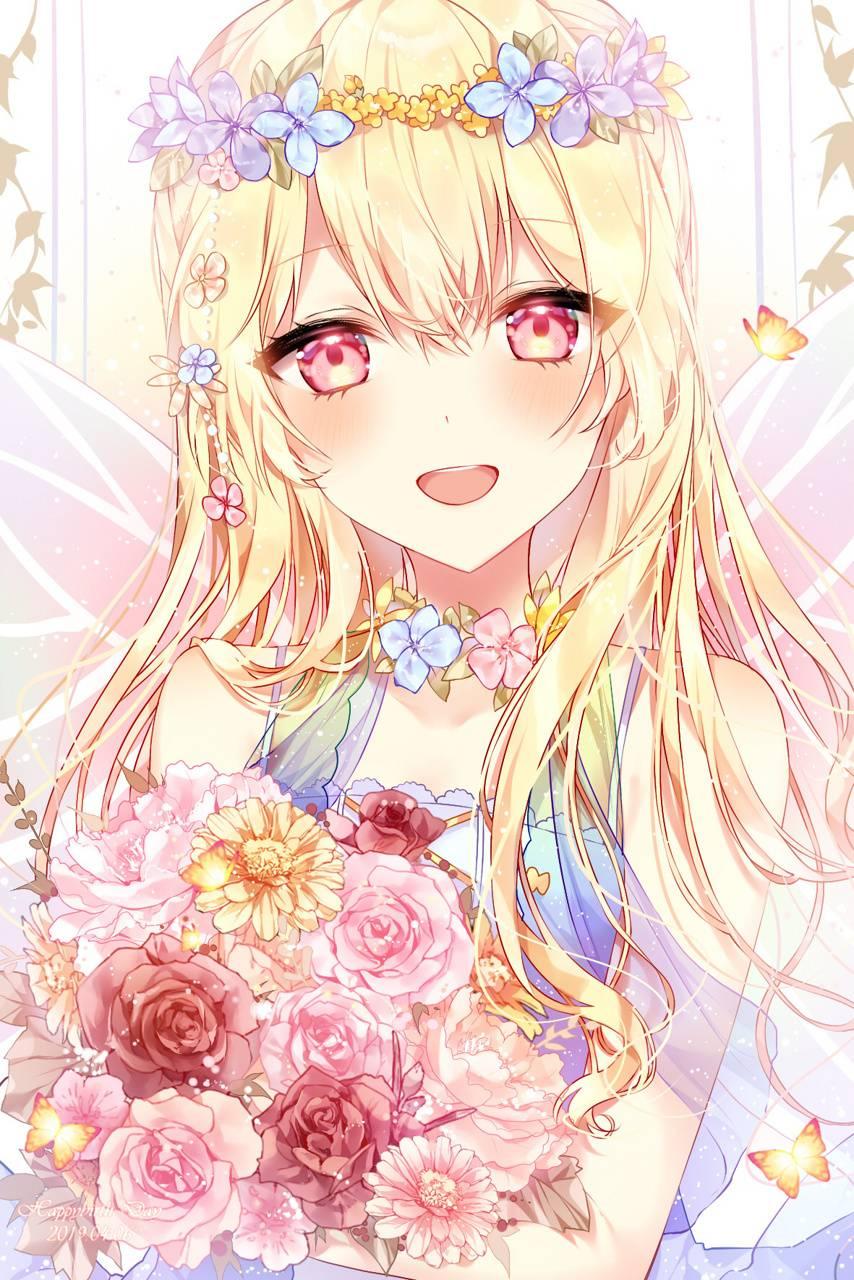Anime Girl Blond