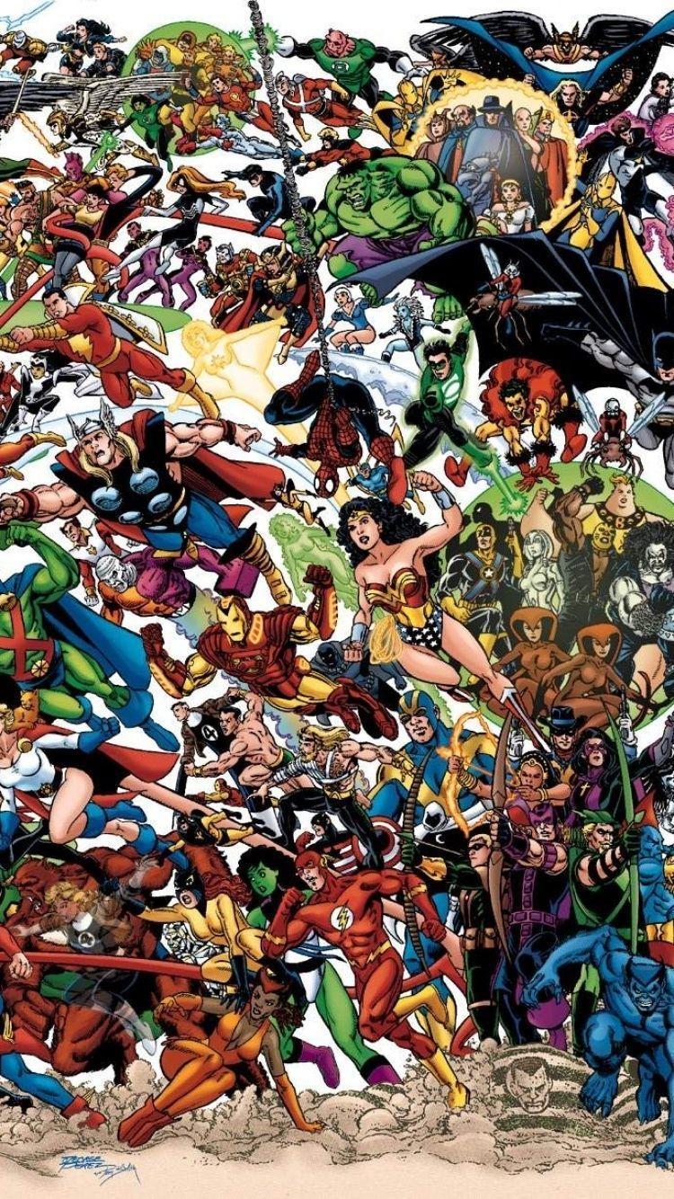 Comic Book Iphone 4k Wallpapers Wallpaper Cave