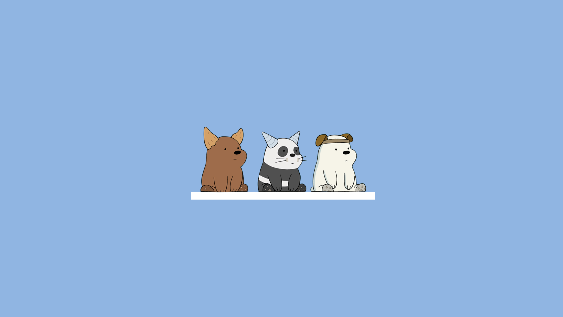 Aesthetic Bare Bears Pc Wallpapers Wallpaper Cave