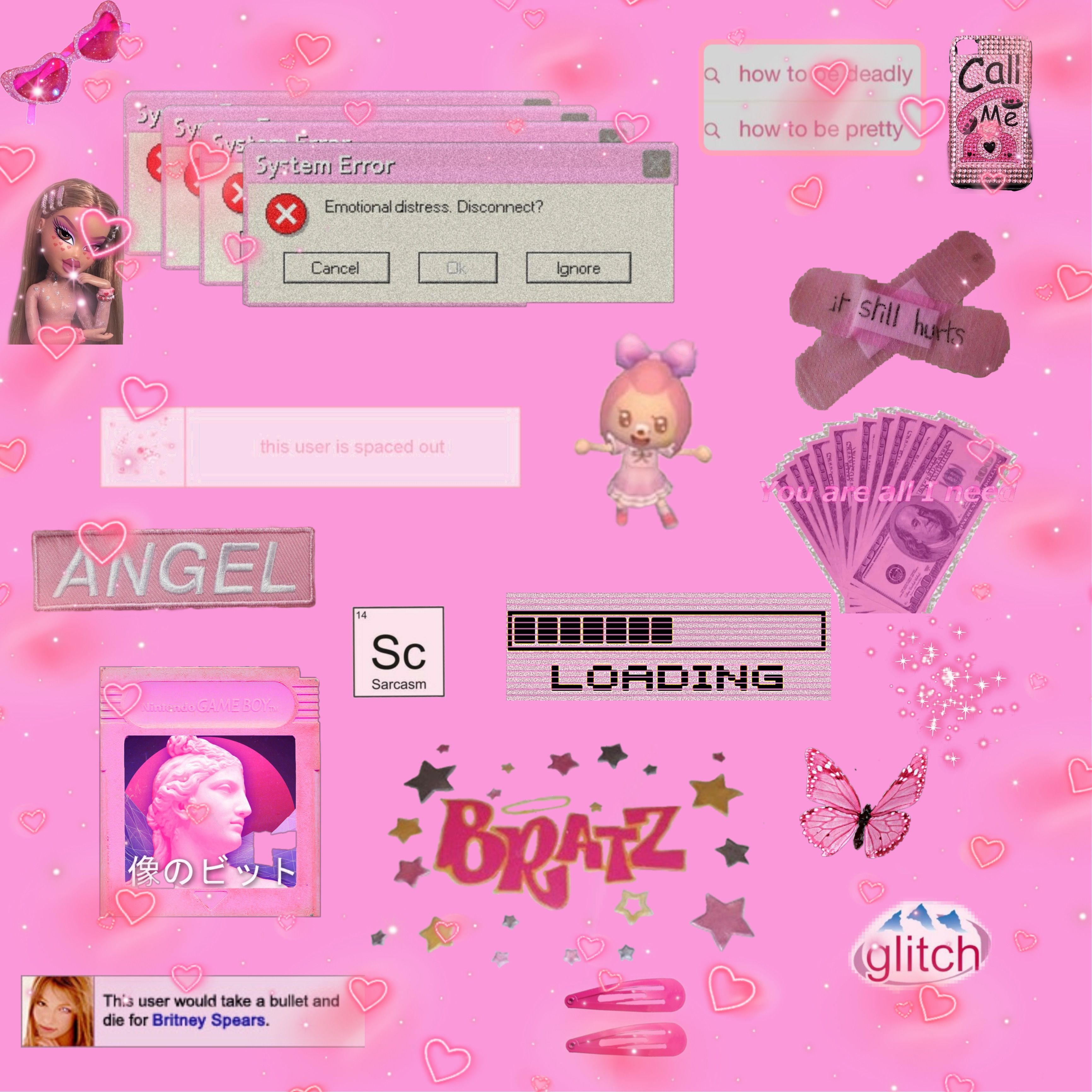 aesthetic 2000s wallpapers