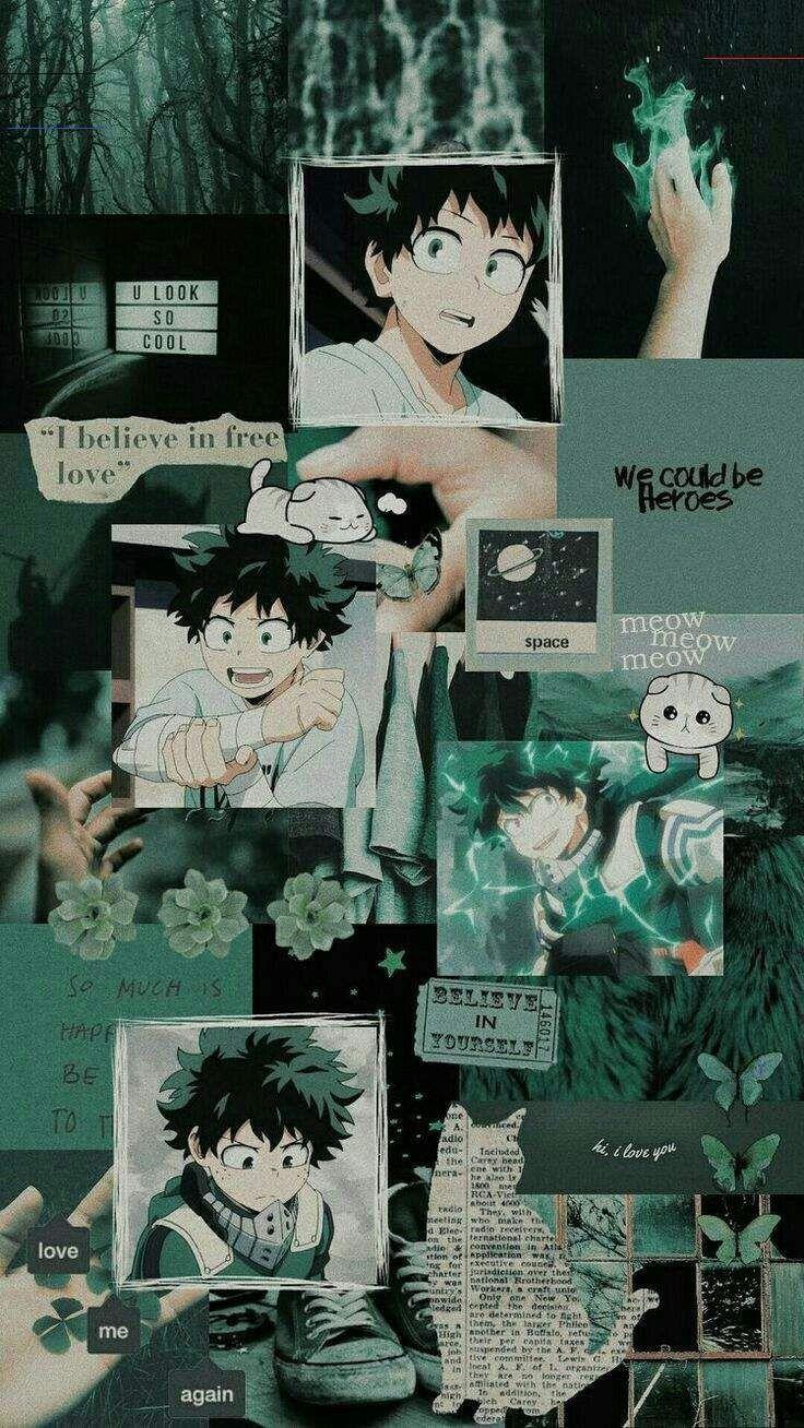 izuku midoriya aesthetic wallpapers