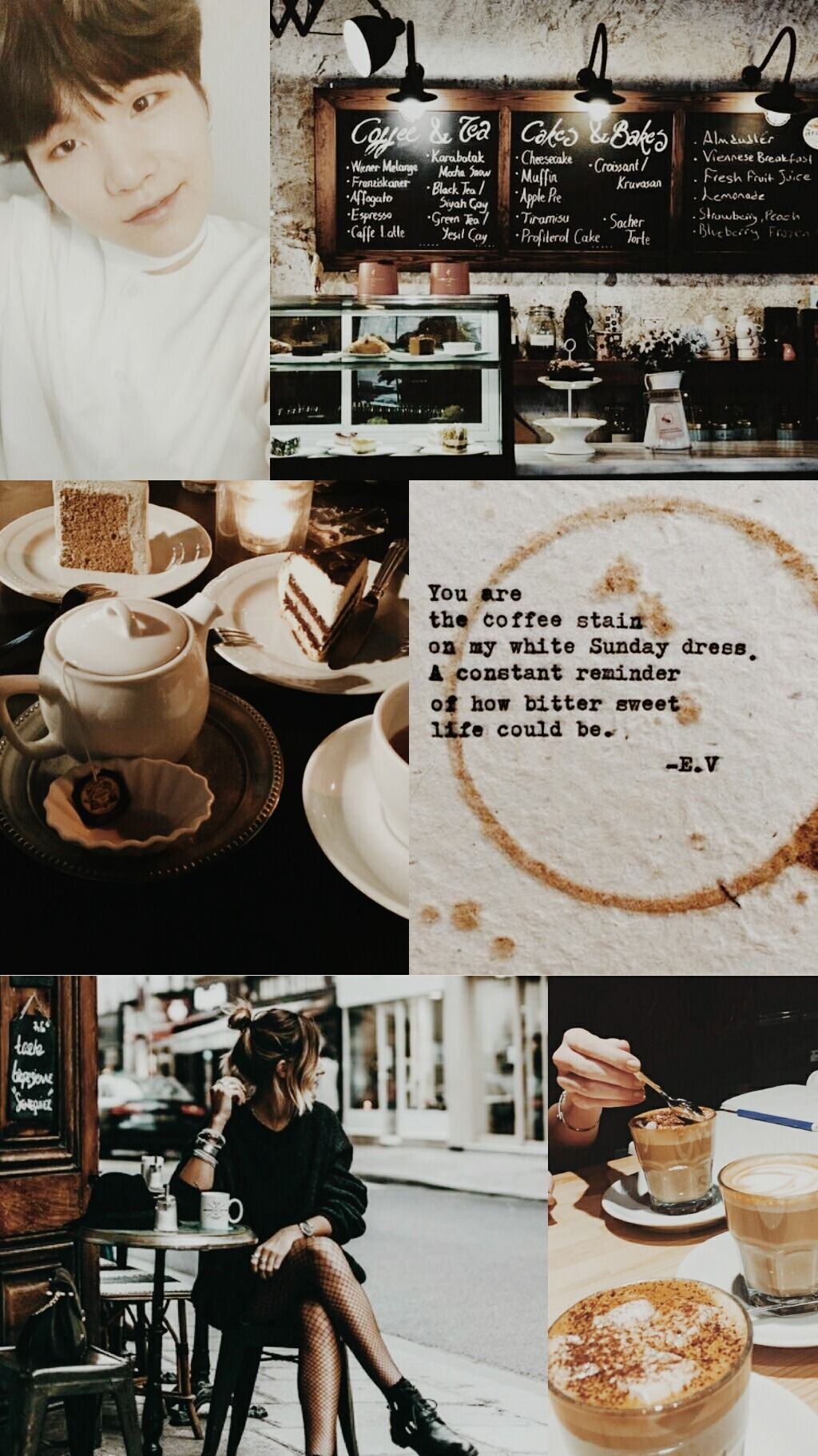 Coffee Aesthetic Wallpapers Wallpaper Cave