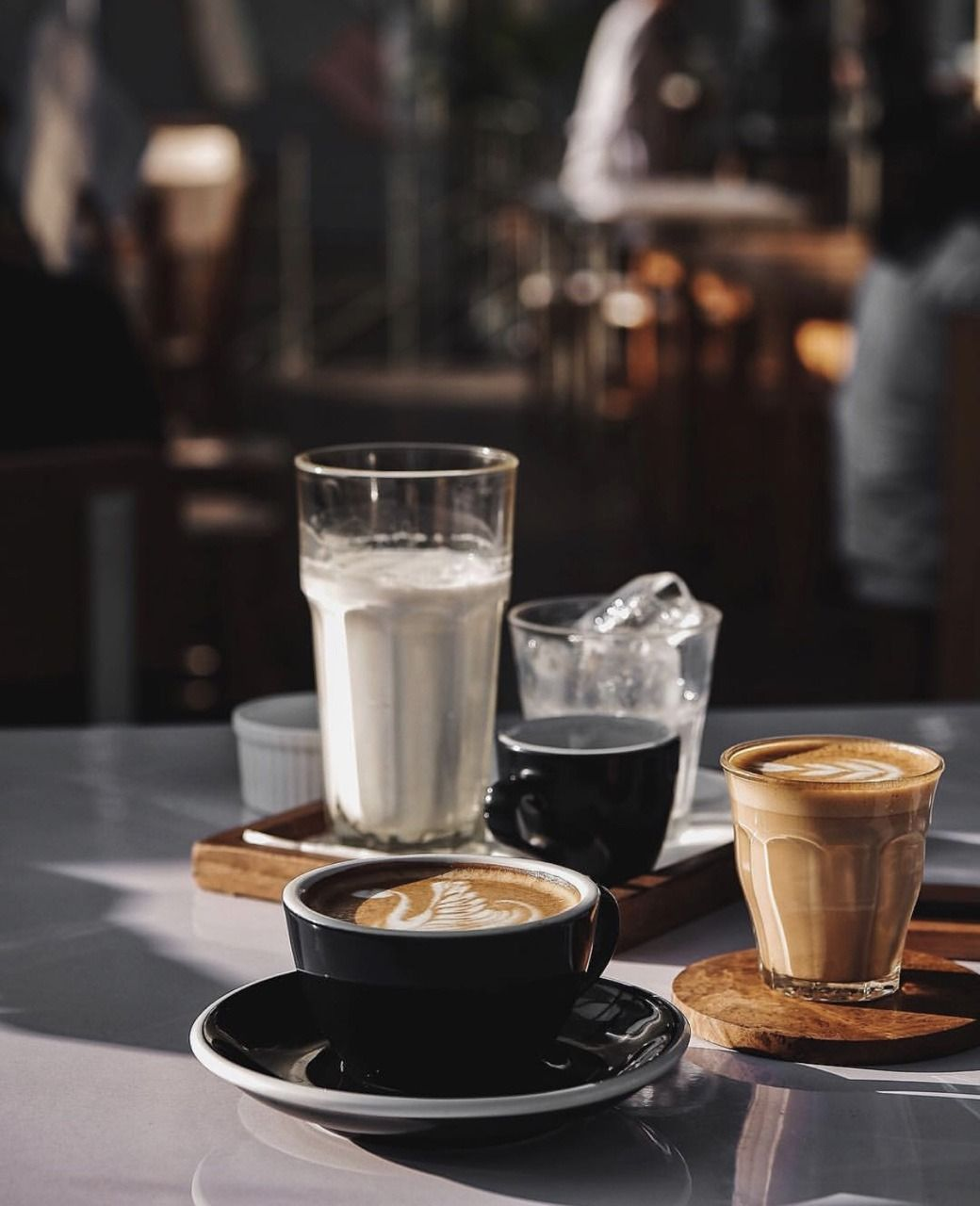 Aesthetic Cafe Wallpapers Wallpaper Cave