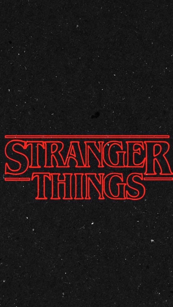 Stranger Things Logo Wallpapers - Wallpaper Cave