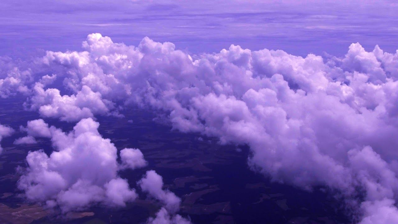 Purple Clouds Aesthetic HD Wallpapers - Wallpaper Cave