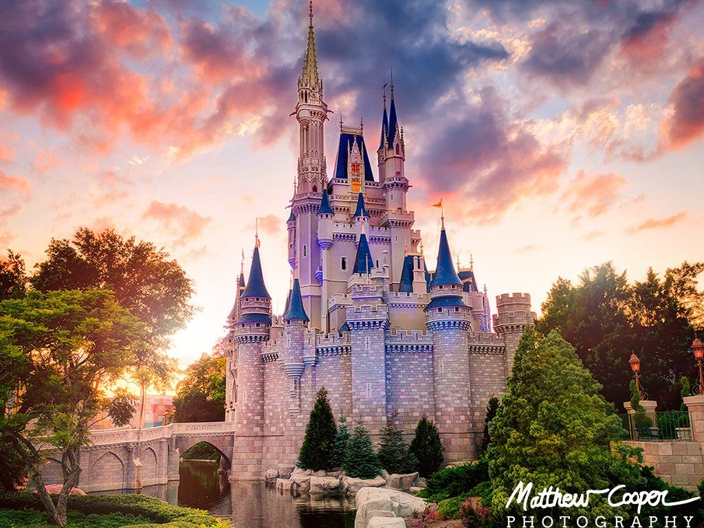 Disney World Cinderella Castle Wallpapers Wallpaper Cave