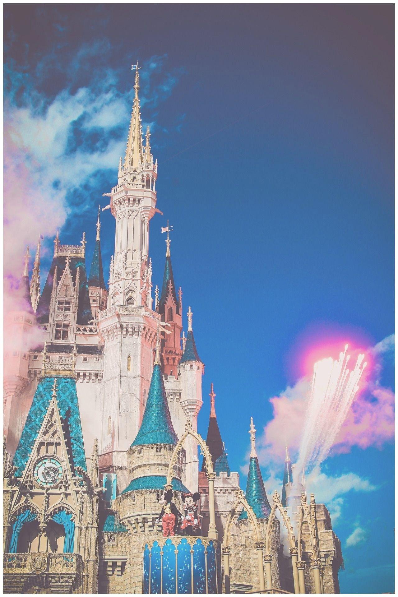 Disney World Cinderella Castle Wallpapers Wallpaper Cave