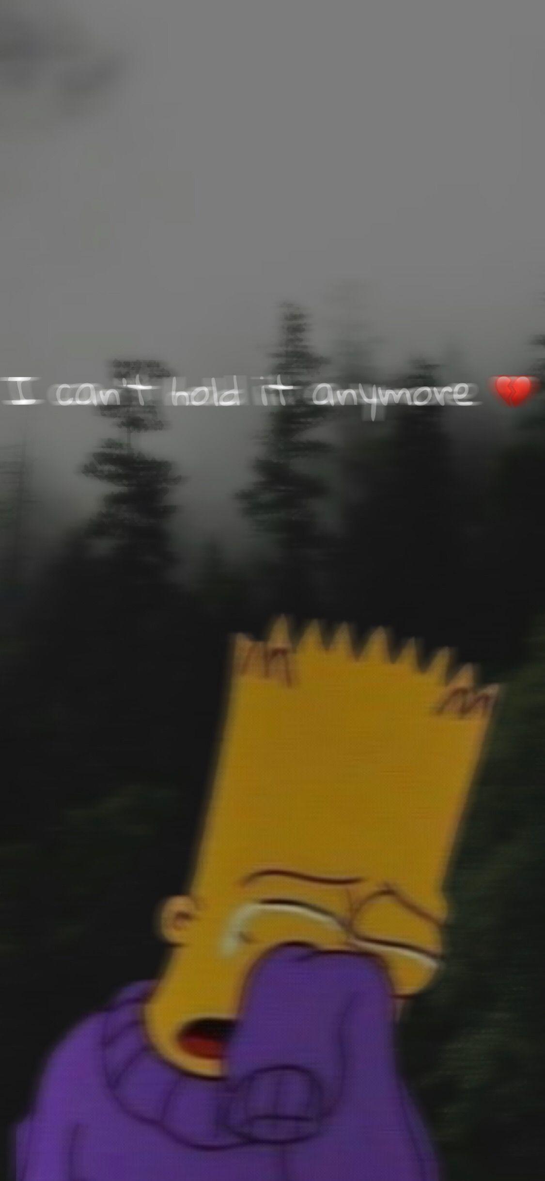 Depressed Bart Simpson HD iPhone Wallpapers - Wallpaper Cave