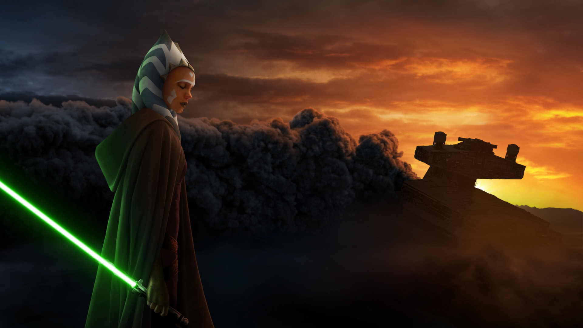 Ahsoka Tano Desktop Wallpapers Wallpaper Cave