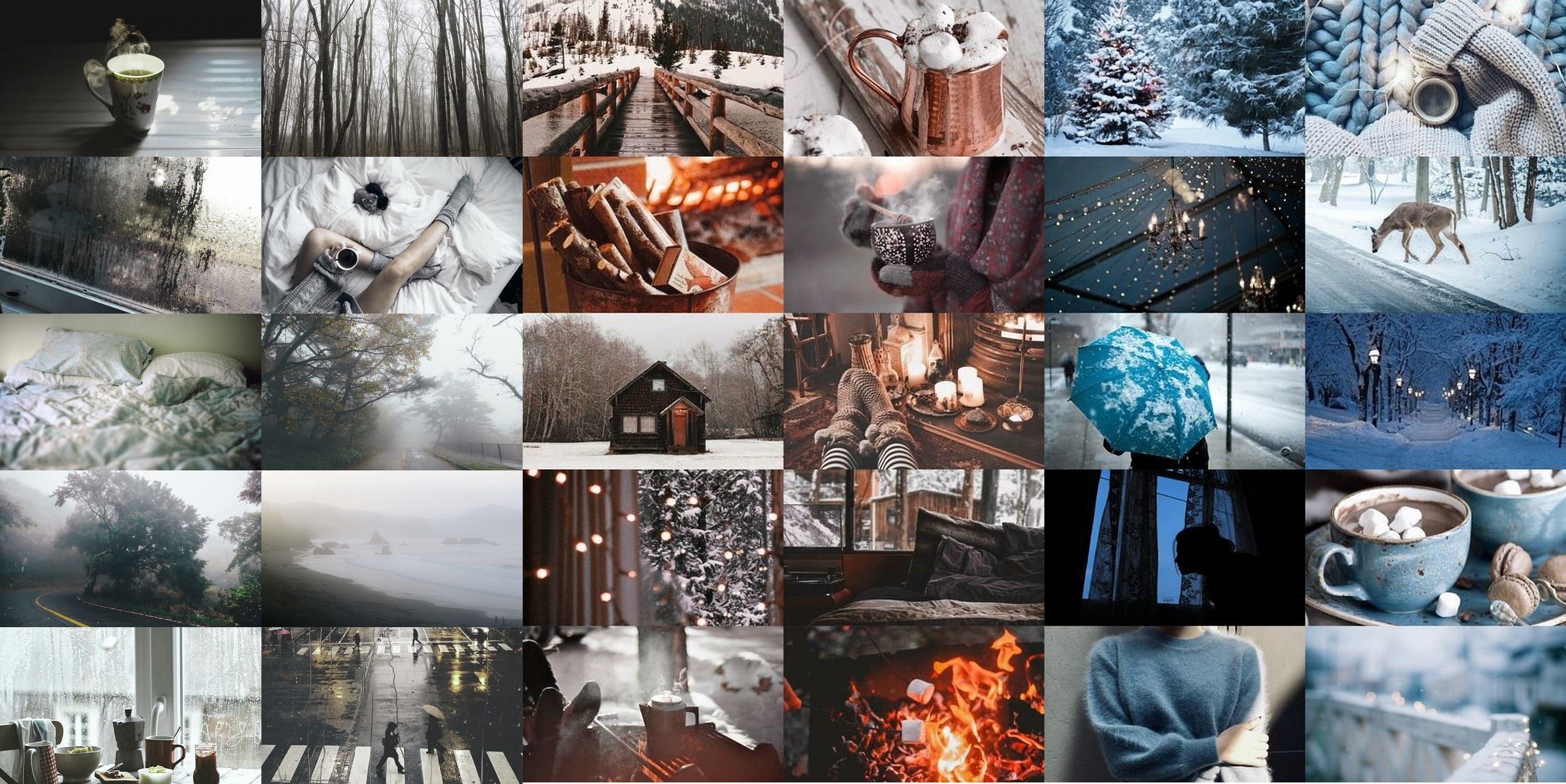 aesthetic collage laptop wallpapers