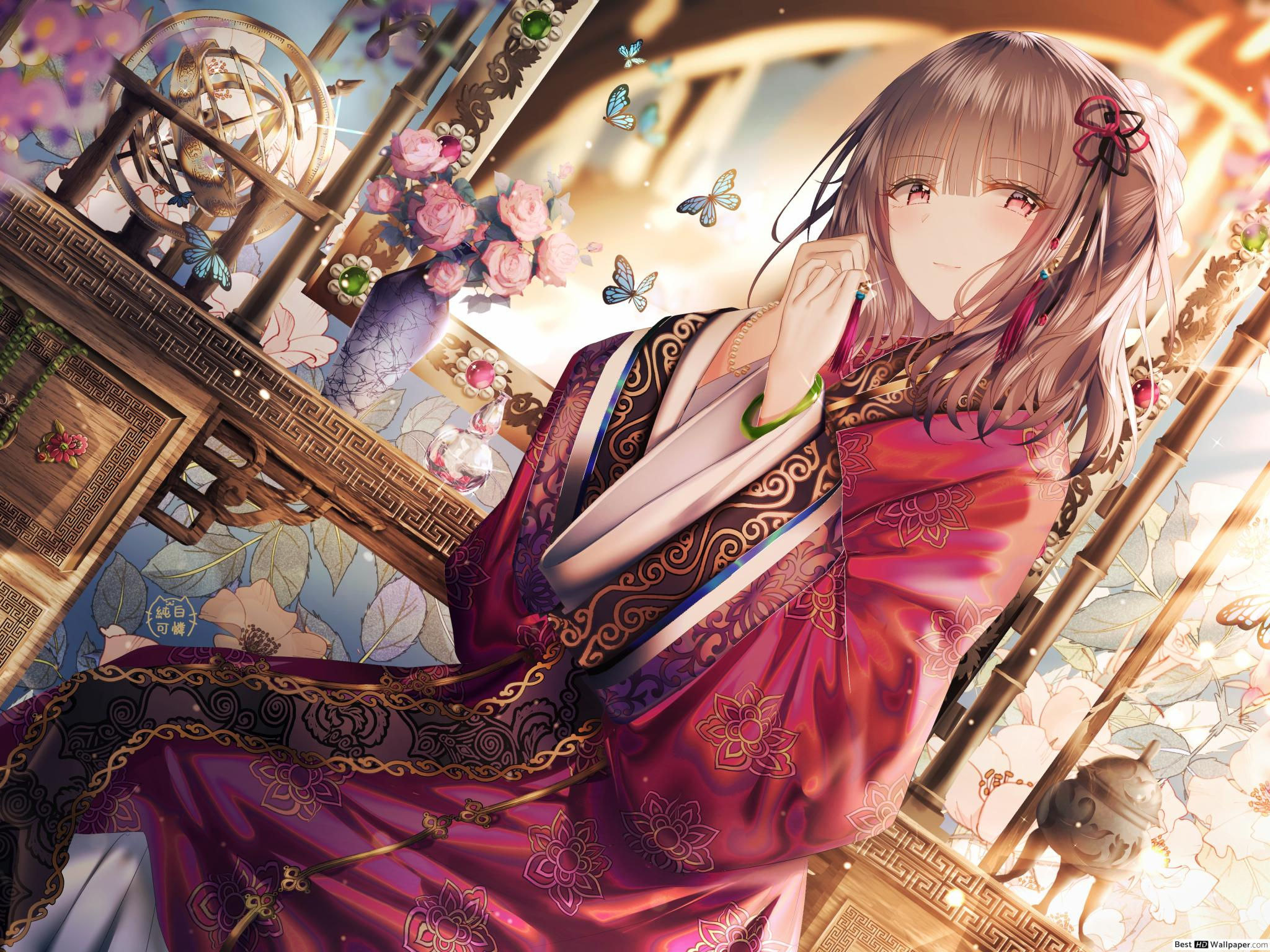 Anime Girl China Wallpapers - Wallpaper Cave