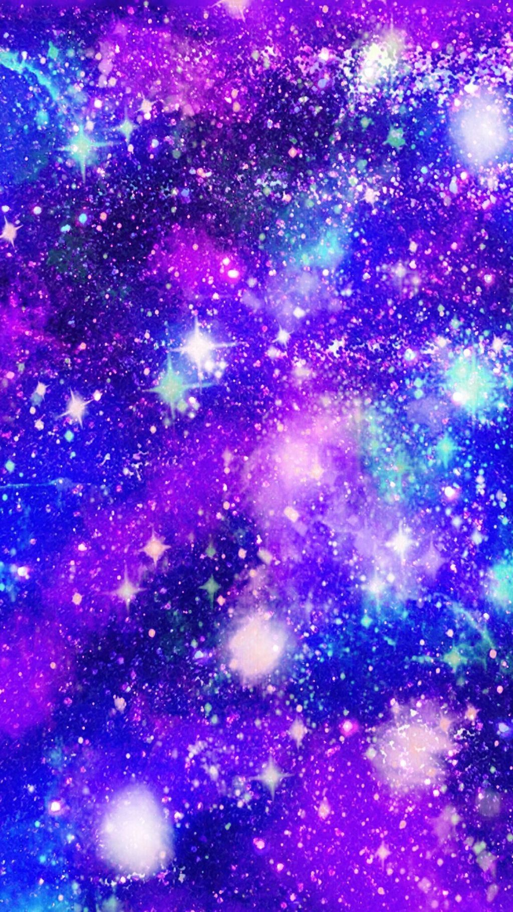 Glitter Galaxy Wallpapers Wallpaper Cave