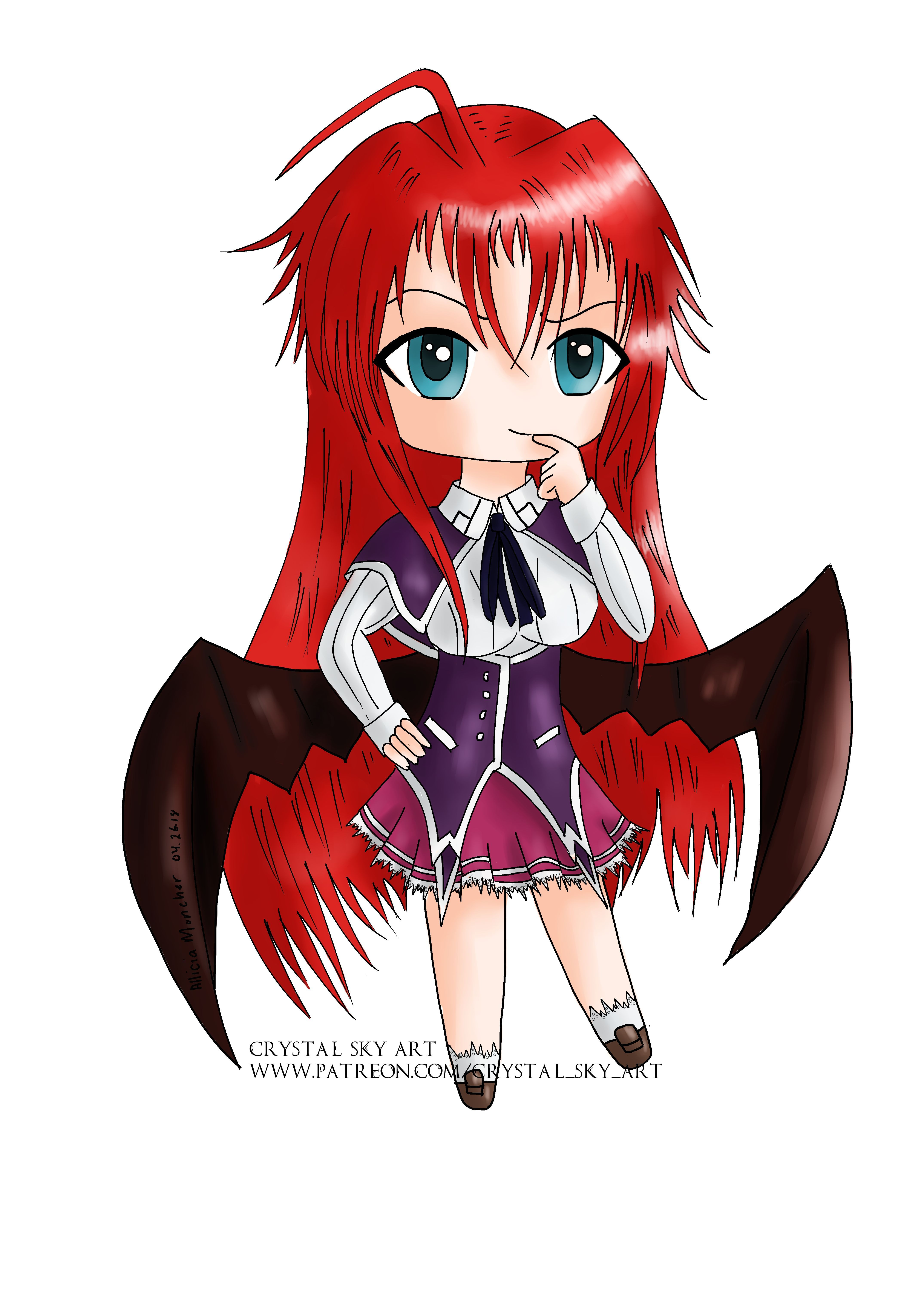 Rias Gremory Cute Android Wallpapers - Wallpaper Cave