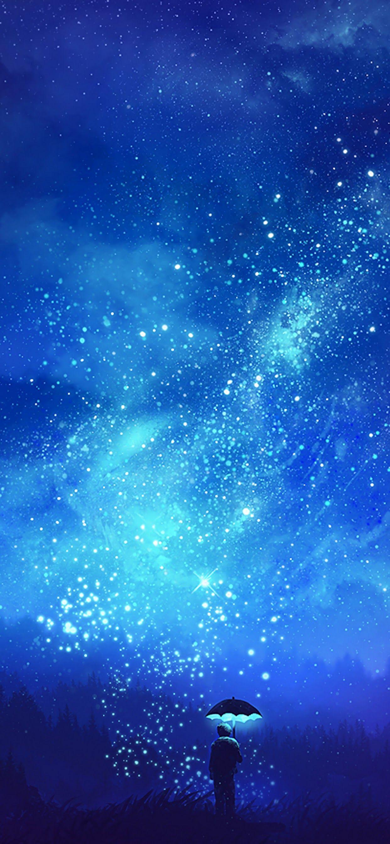 4k Night Sky Anime Portrait Wallpapers Wallpaper Cave