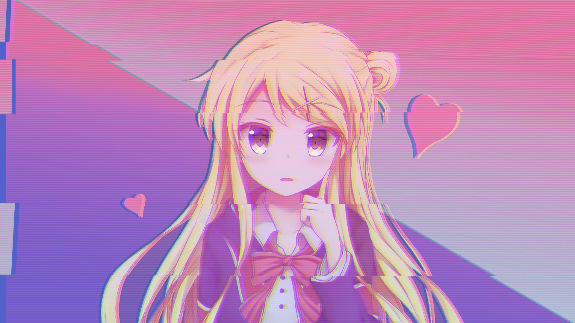Aesthetic Anime Girl 1920x1080 Wallpapers - Wallpaper Cave