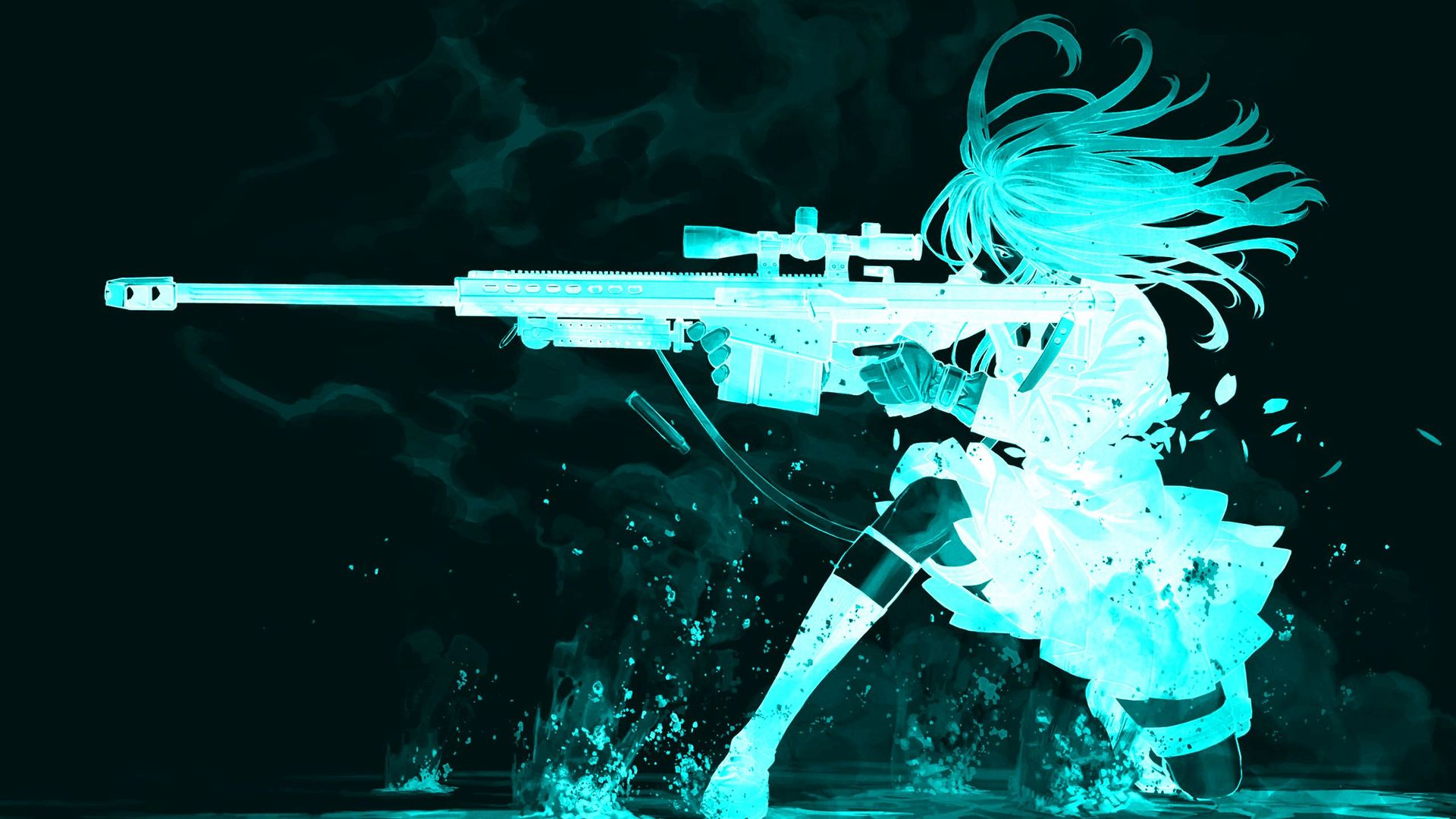 4k Anime Girl Ps4 Gun Wallpapers - Wallpaper Cave