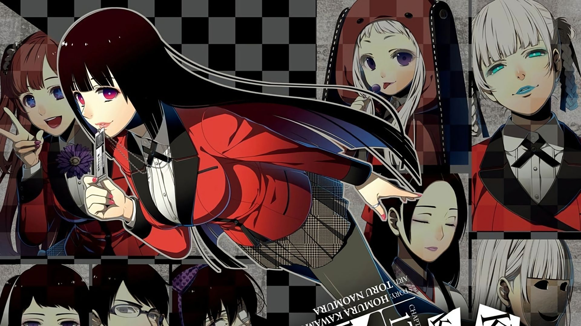 Kakegurui Teams Background 3