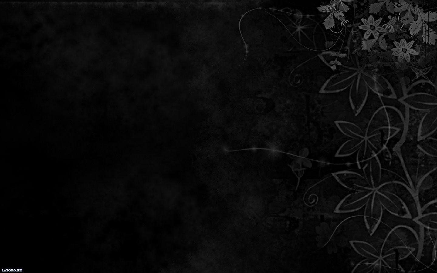 Aesthetic Black Pc Wallpapers Wallpaper Cave