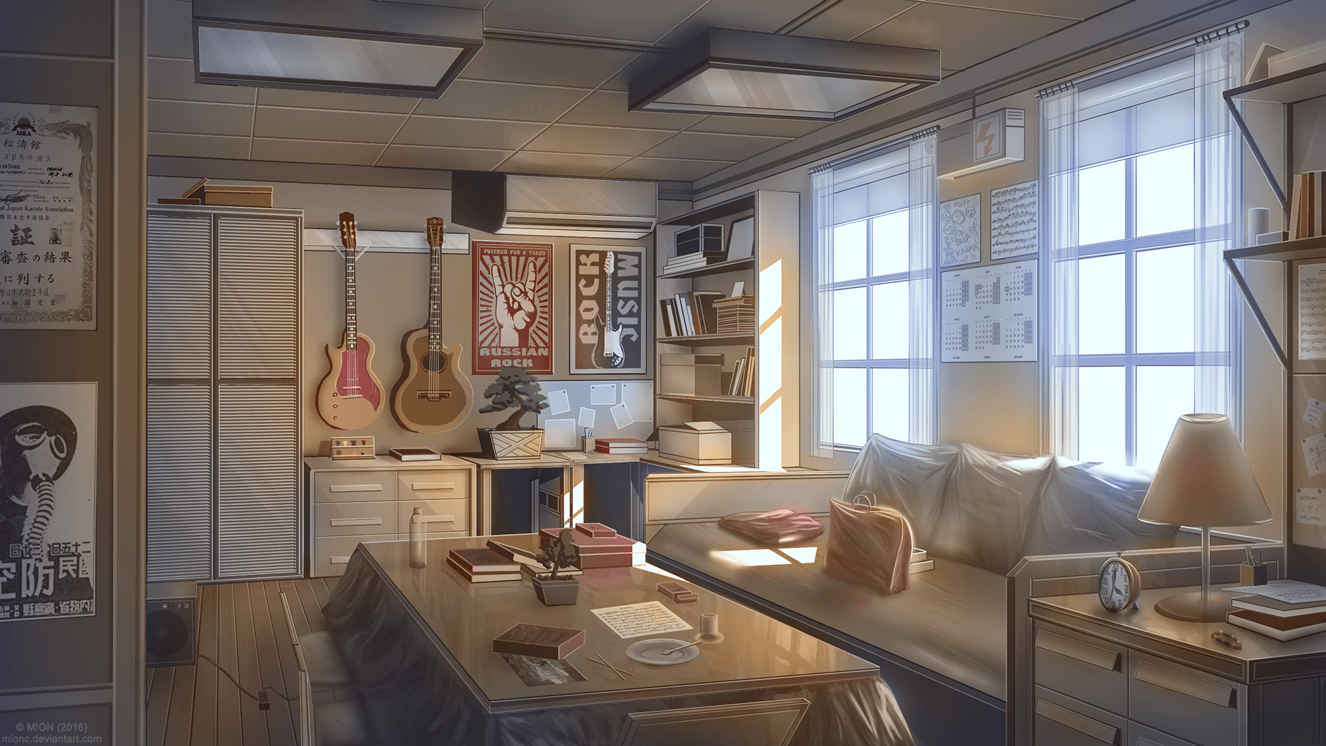 Anime Bedroom Wallpapers - Wallpaper Cave