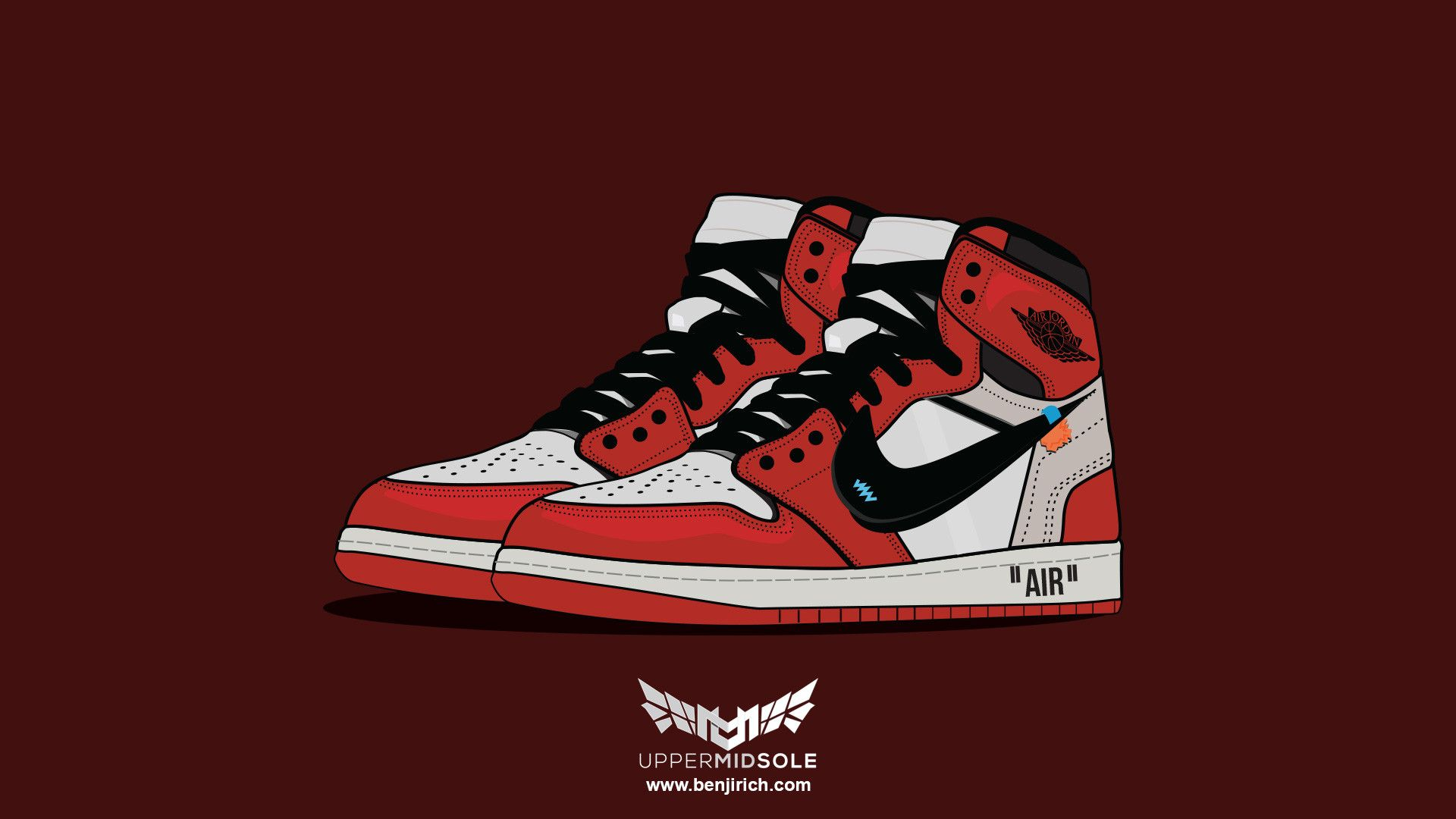 Air Jordan Retro 1 Wallpapers Wallpaper Cave