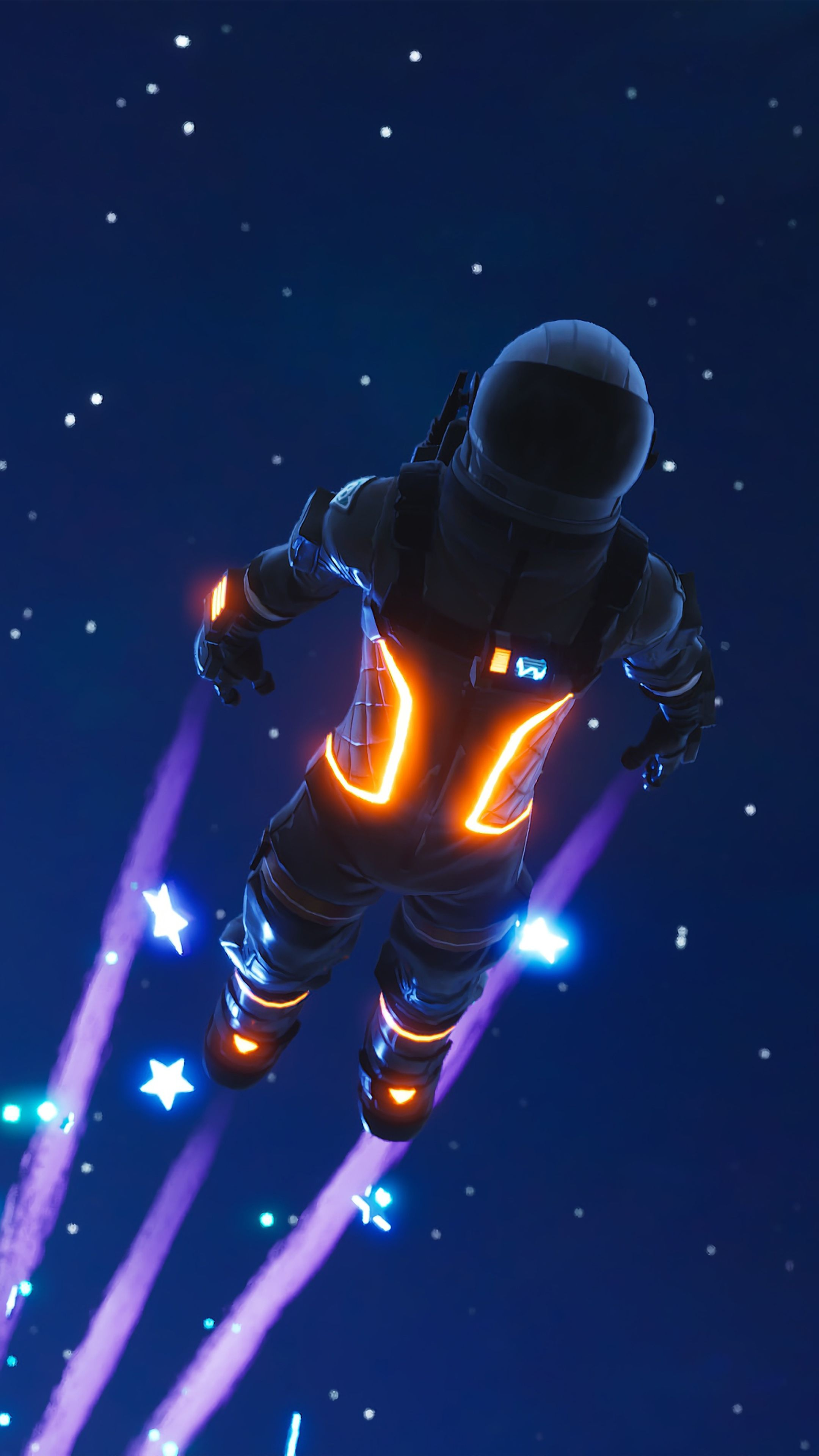 Dark Voyager Fortnite Battle Royale Free 4K Ultra HD Mobile Wallpapers