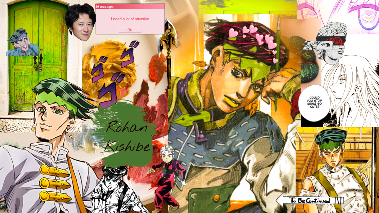 Rohan Kishibe Aesthetic Wallpapers - Wallpaper Cave