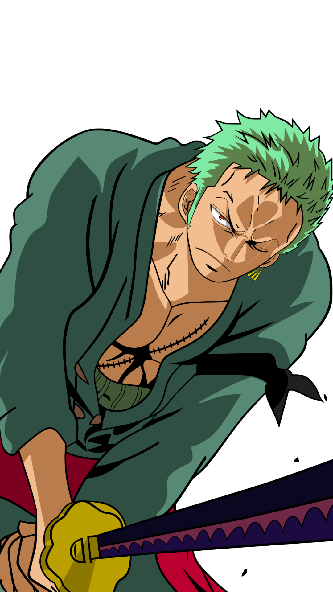 Roronoa Zoro Iphone Hd Wallpapers Wallpaper Cave