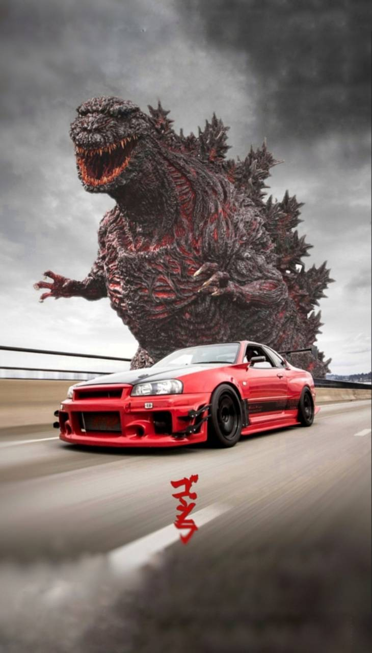 Android Godzilla Gtr Wallpapers Wallpaper Cave