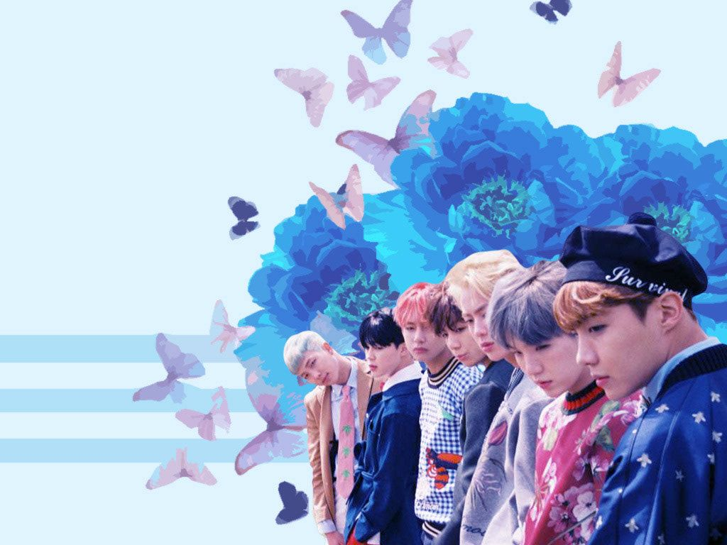 Aesthetic Bts Laptop Wallpapers Wallpaper Cave