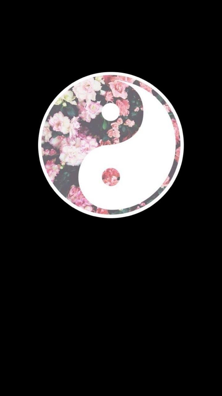 Iphone Yin Yang Wallpapers Wallpaper Cave