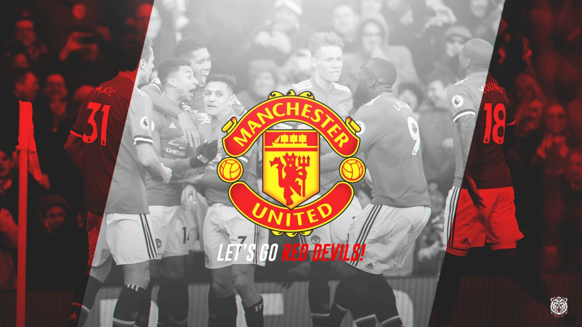 Manchester United Desktop Wallpapers - Wallpaper Cave