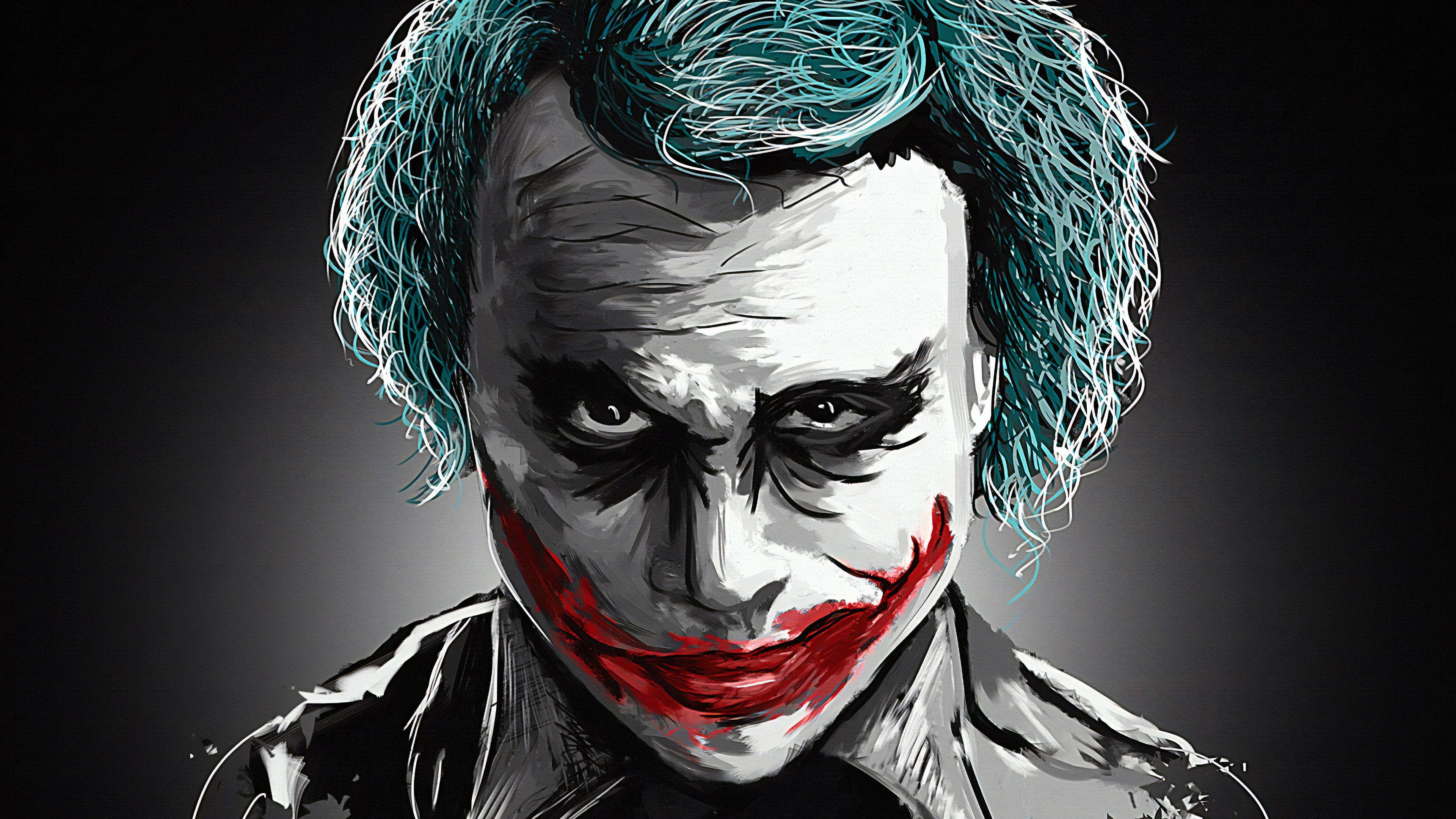 Heath Ledger HD Joker Wallpapers - Wallpaper Cave