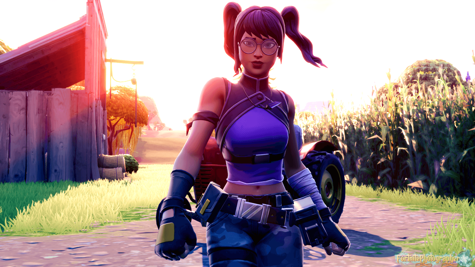 Crystal Fortnite Anime Wallpapers Wallpaper Cave