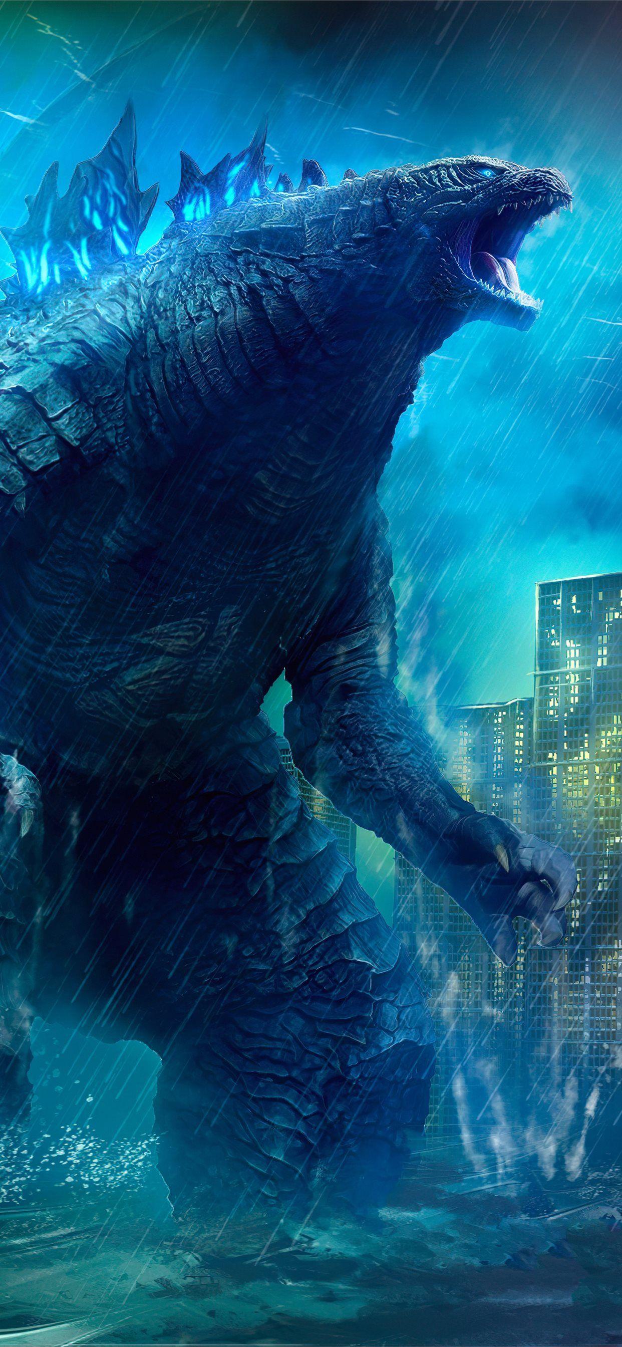 Electric Godzilla Wallpapers - Wallpaper Cave