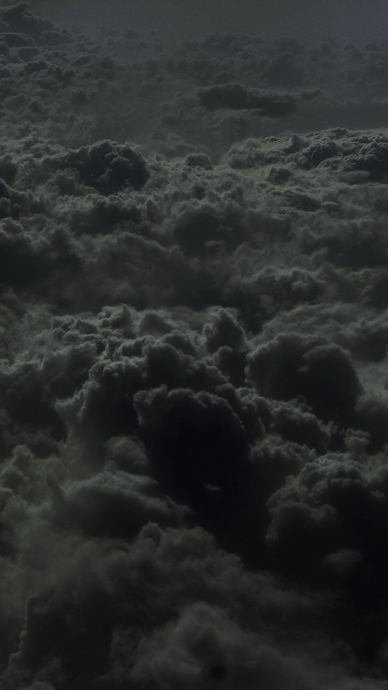 Black Clouds Aesthetic Wallpapers Wallpaper Cave