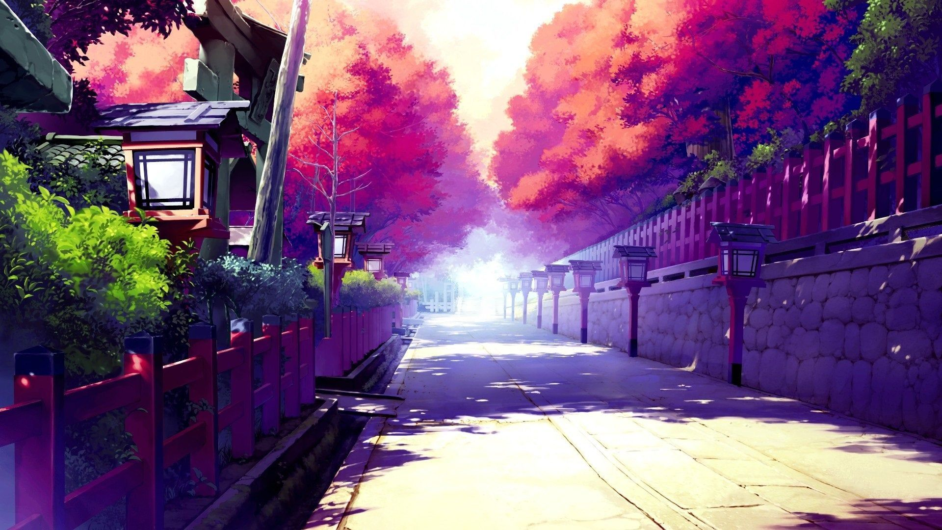 Anime Street Wallpapers - Wallpaper Cave