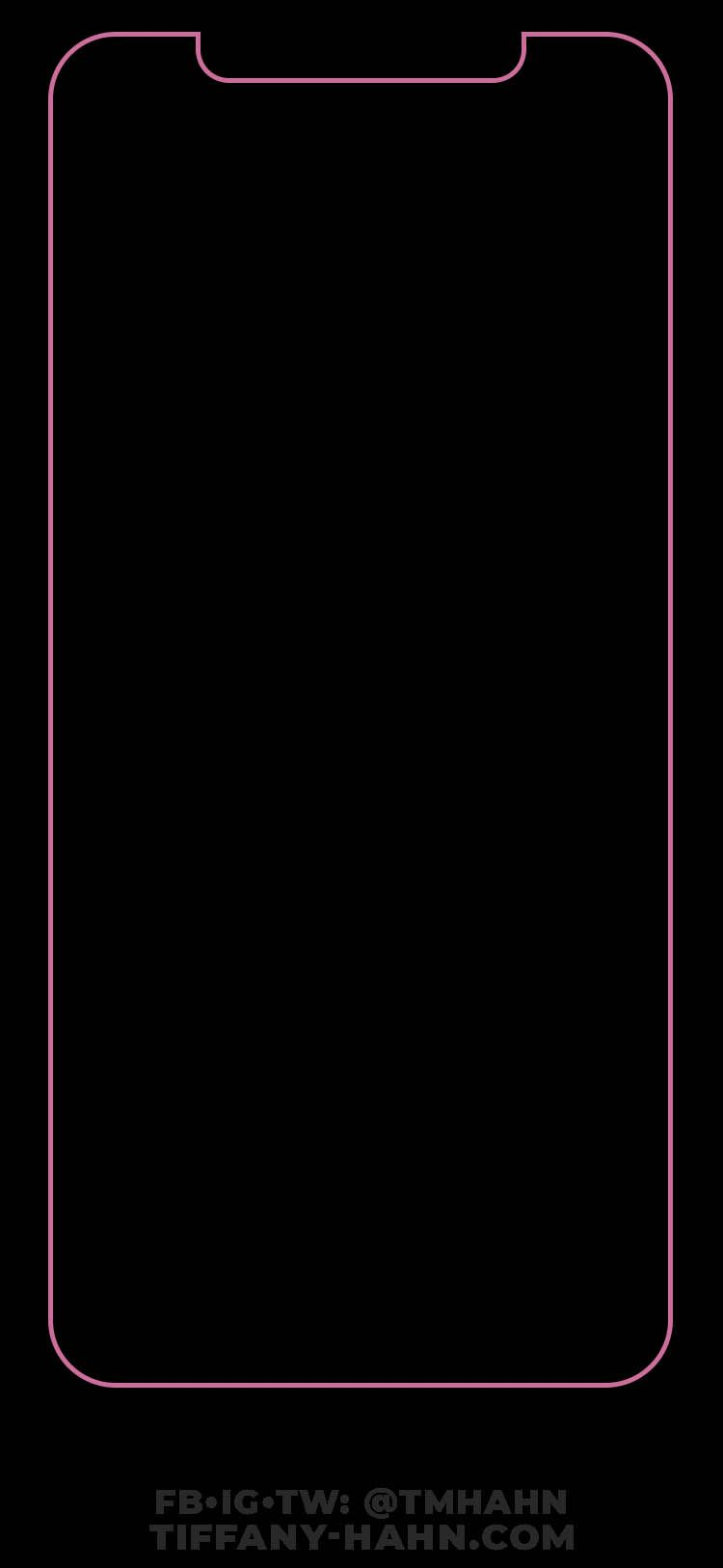 iPhone Outline Wallpapers - Wallpaper Cave