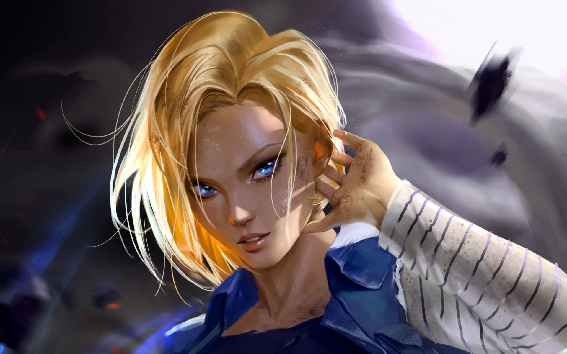 Android 18 HD Wallpapers - Wallpaper Cave