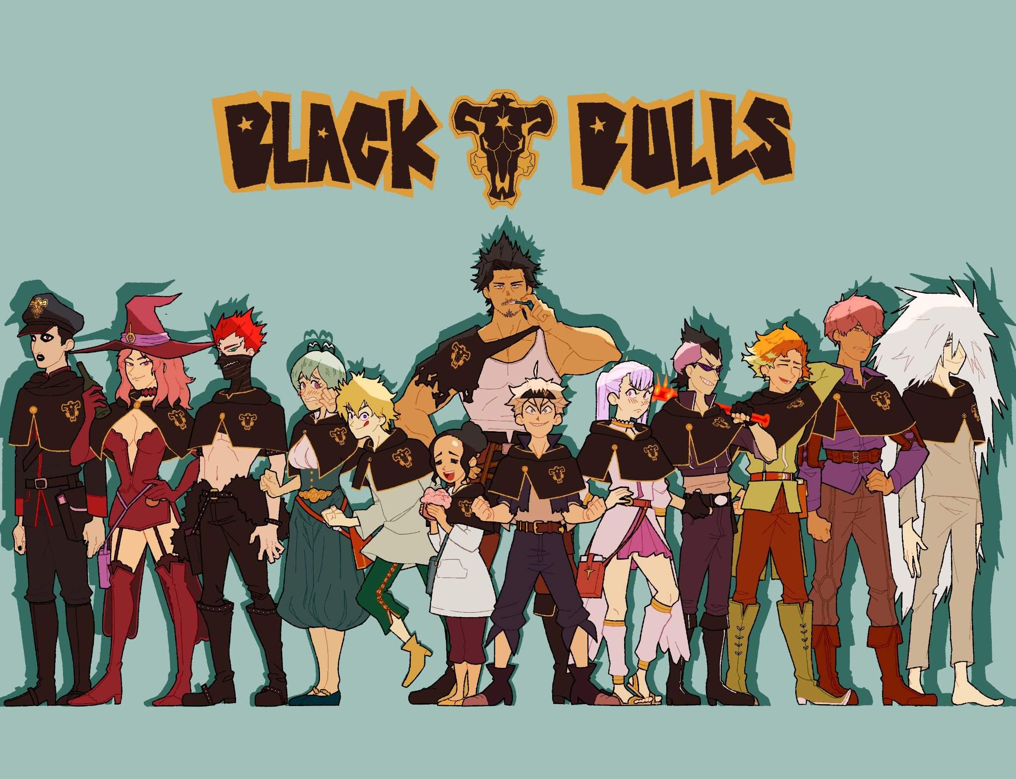Black Bull Black Clover Wallpapers Wallpaper Cave
