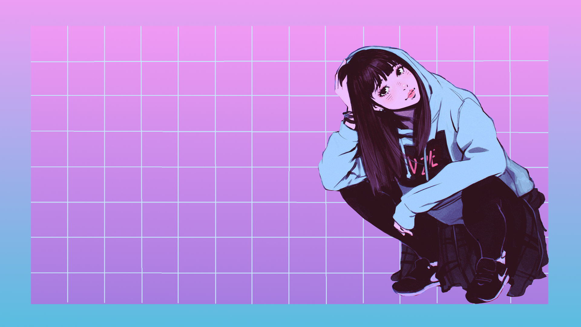 aesthetic hd laptop anime wallpapers