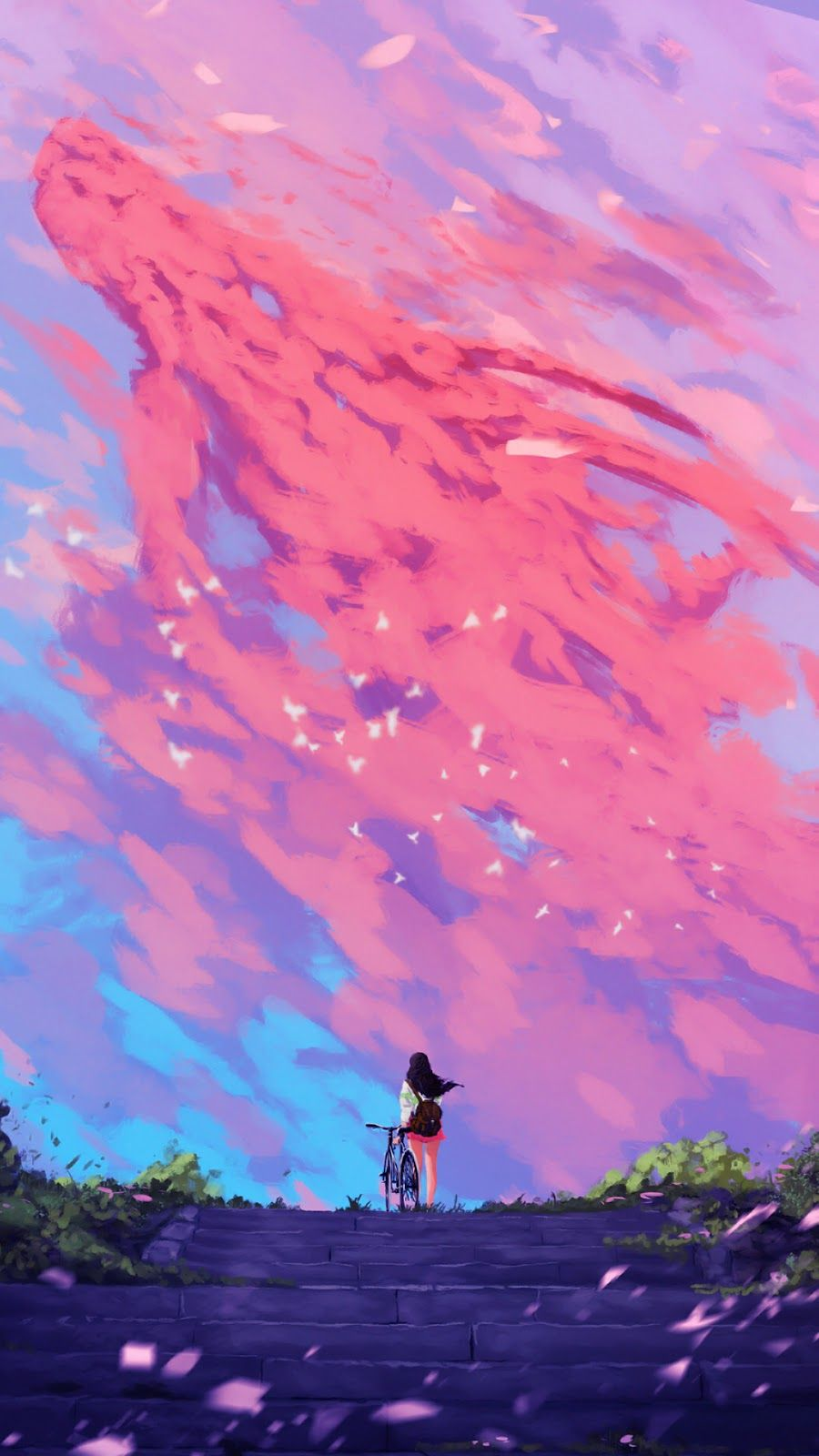 Anime Aesthetic Phone Wallpapers ...