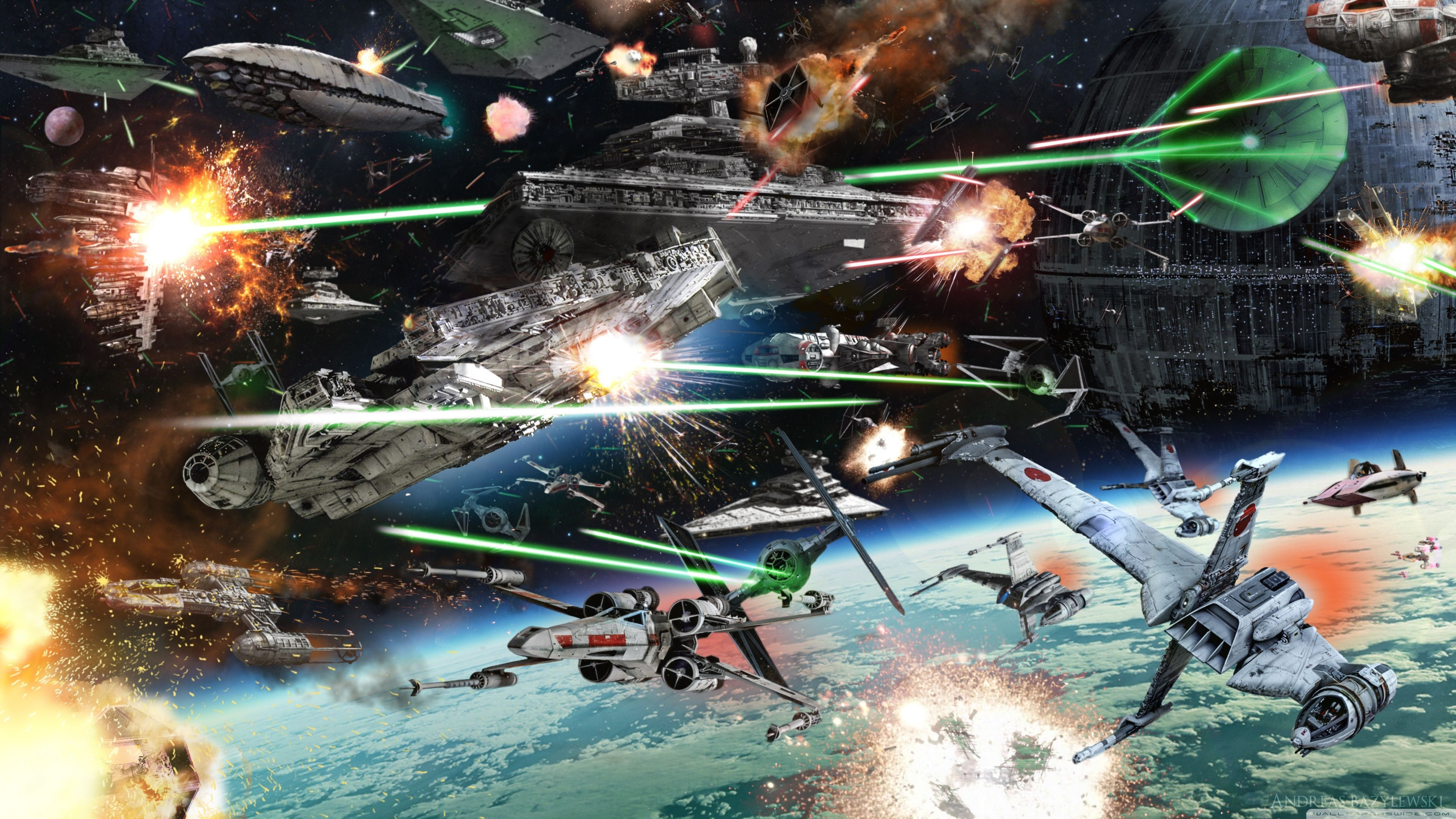 Star Wars Battle Wallpapers