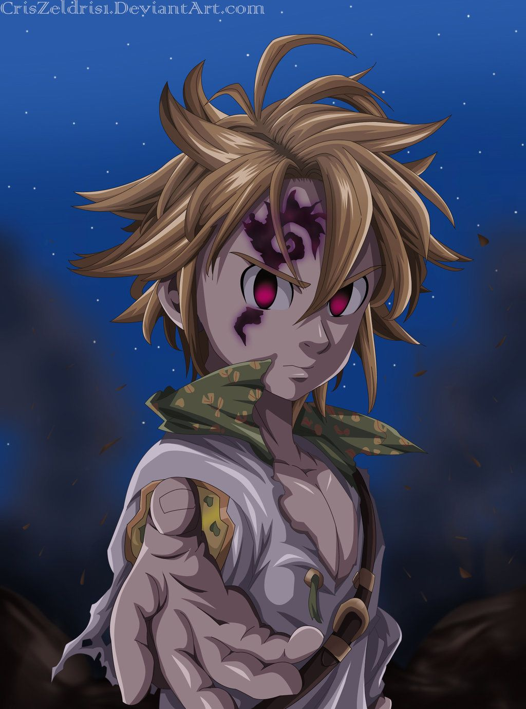 Free download Meliodas Nanatsu no Taizai by CrisZeldris1