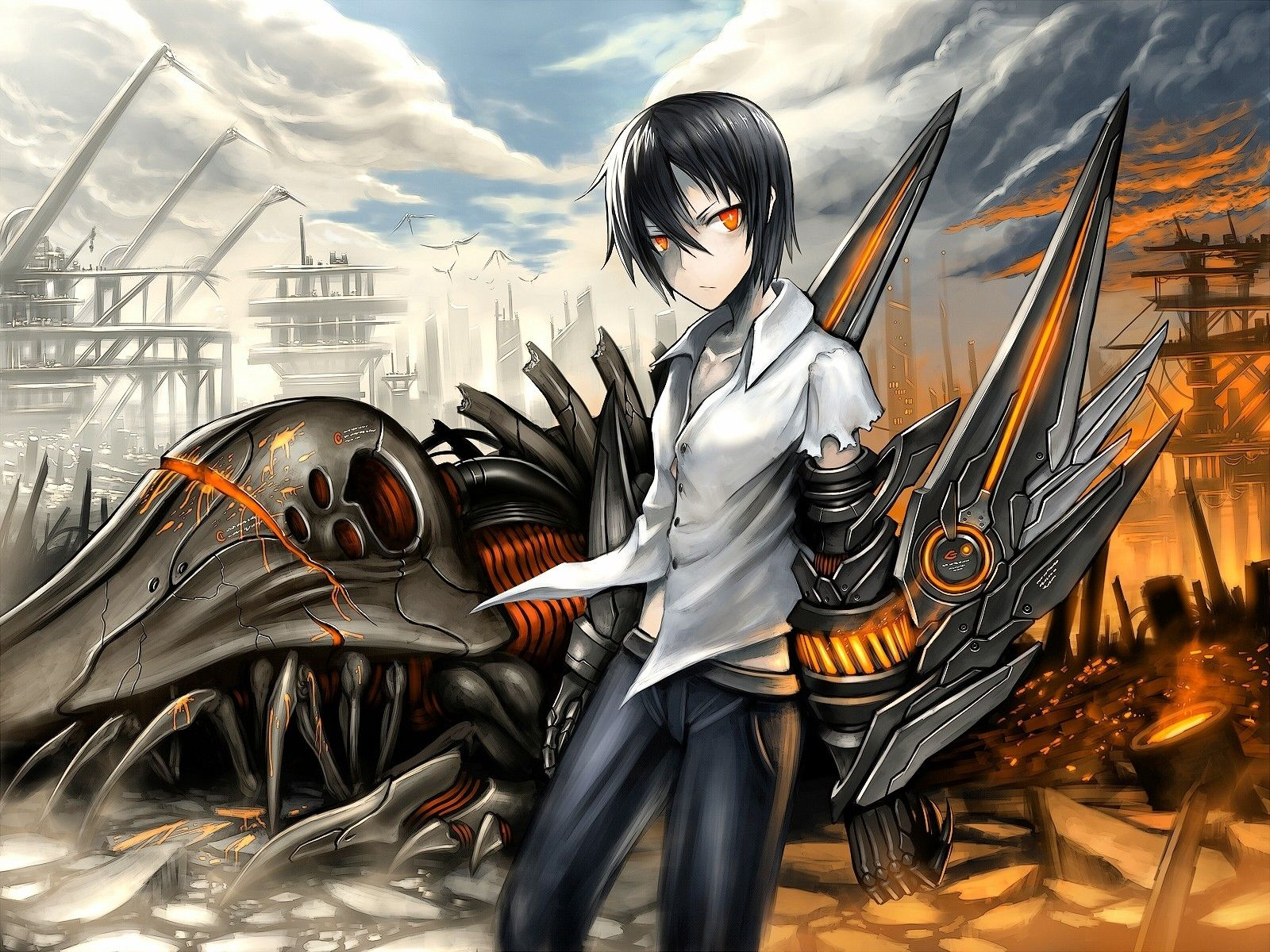 Cool Anime Boys With Black Hair And Eyes Wallpapers ...