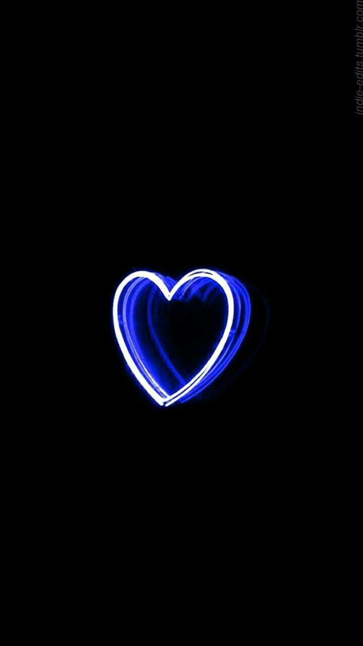 Aesthetic Neon Blue Wallpapers Wallpaper Cave
