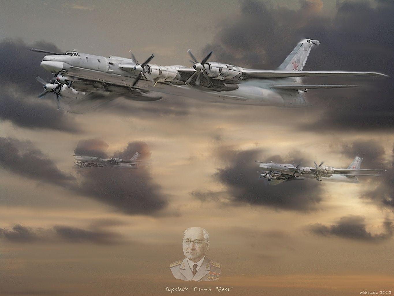 Tupolev Tu-95 HD Wallpaper | Hintergrund | 1920x1200 | ID