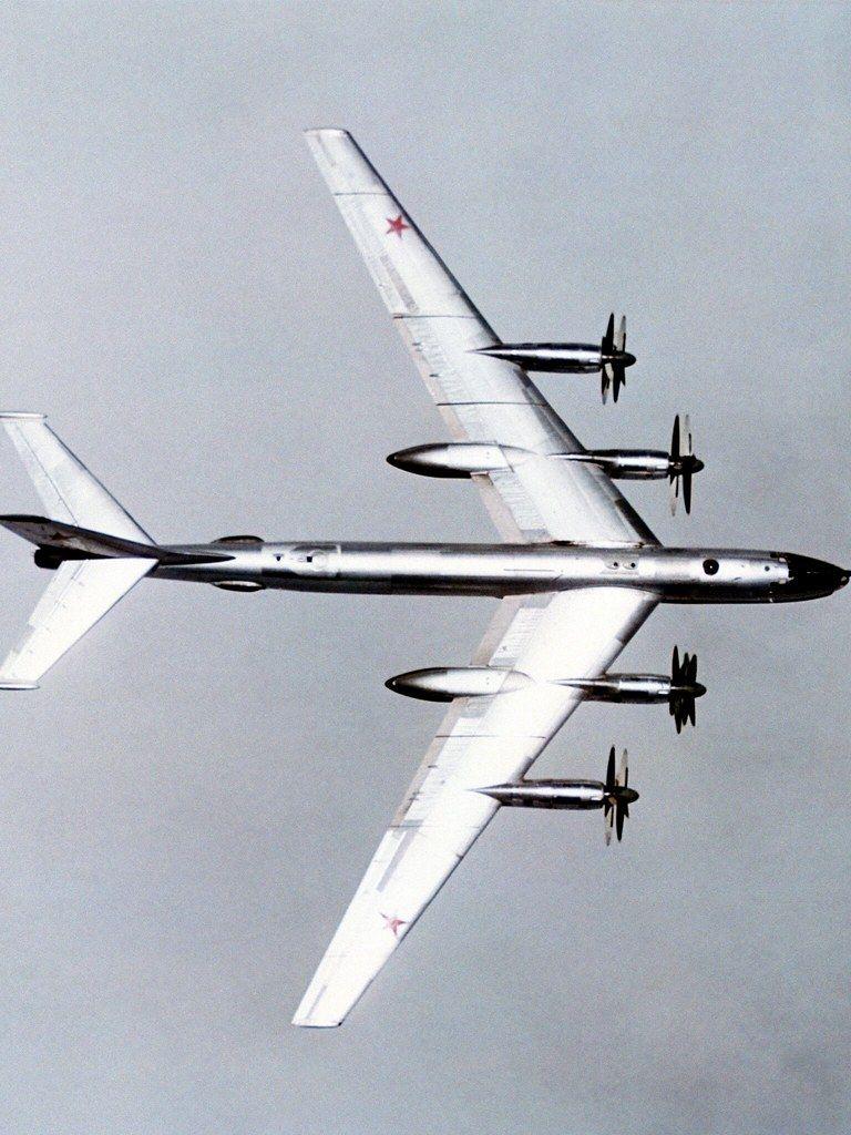 Cool desktop wallpaper of Tu-95 Bomber, wallpaper of